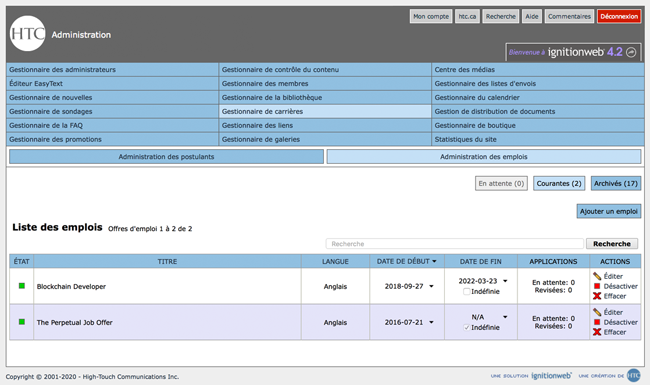 IgnitionWeb Screenshot