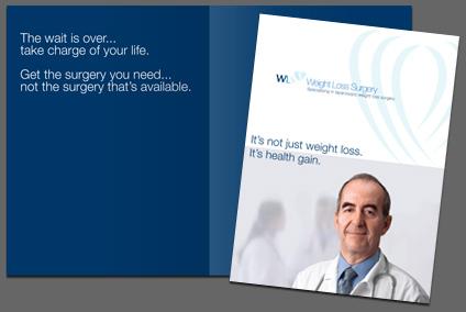 Weight Loss Surgery Pocket Folder
